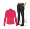Asics Core Woven костюм для бега женский розовый-черный - 1