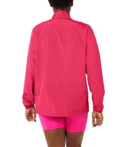 Asics Core Woven костюм для бега женский розовый-черный