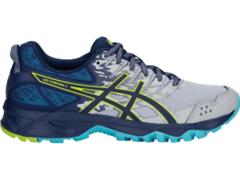Asics Gel Sonoma 3 женские кроссовки внедорожники синие-серые