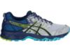 Asics Gel Sonoma 3 женские кроссовки внедорожники синие-серые - 1