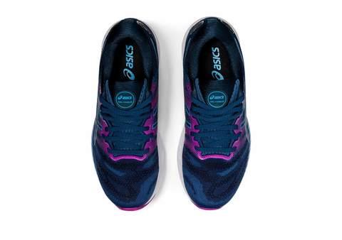 Asics Gel Nimbus 23 кроссовки для бега женские синие-фиолетовые