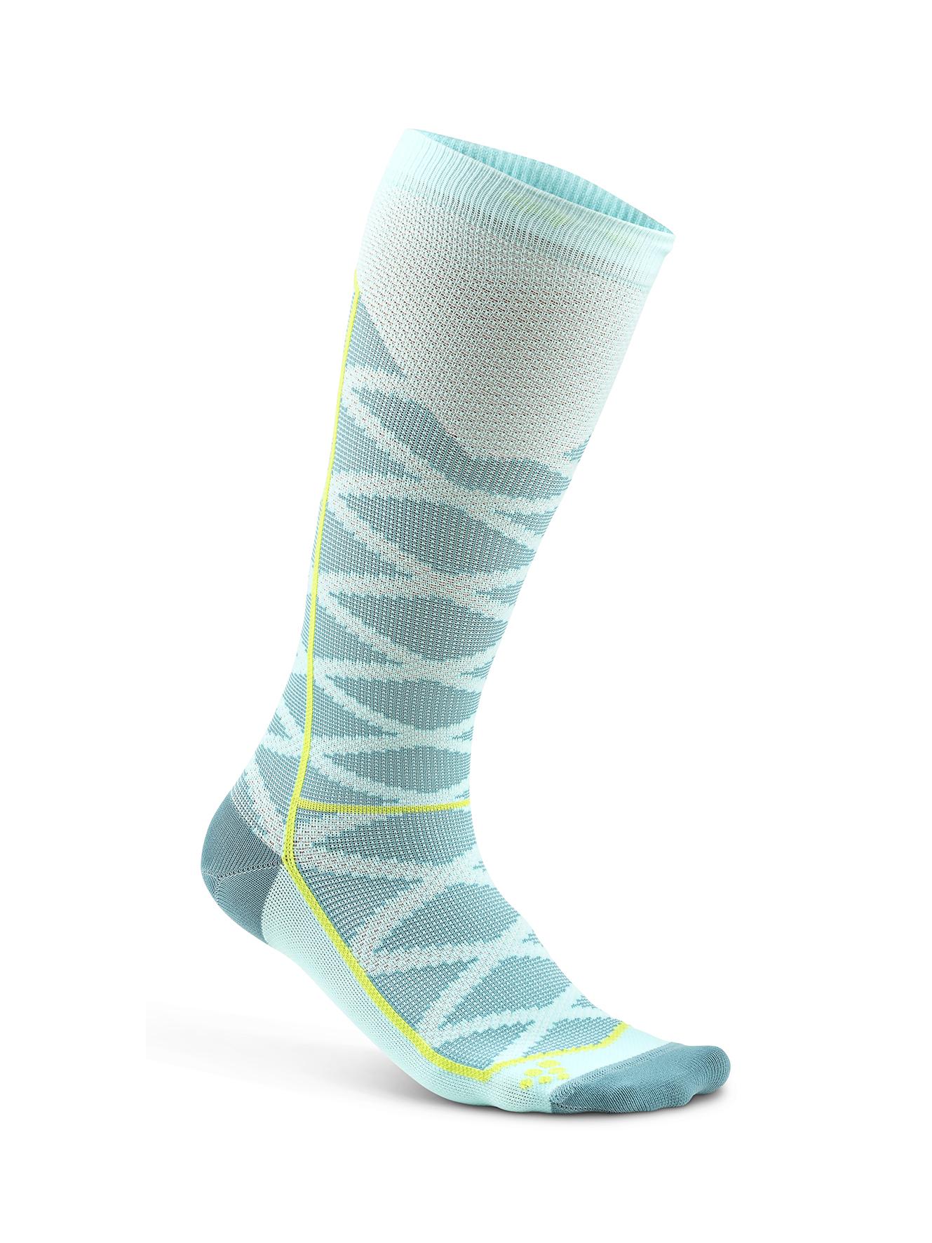 Craft Compression Pattern компрессионные носки бирюза