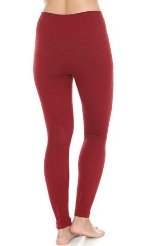 Термобелье Brubeck Wool Merino термокальсоны женские красные