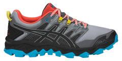 Asics Gel Fujitrabuco 7 кроссовки внедорожники мужские черные-серые