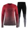 Craft Wool Comfort 2.0 женский комплект термобелья красный - 1