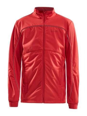 Craft Warm детская лыжная куртка red