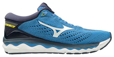 Mizuno Wave Sky 3 кроссовки для бега мужские синие
