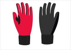 Nordski Active WS Jr детские лыжные перчатки красные