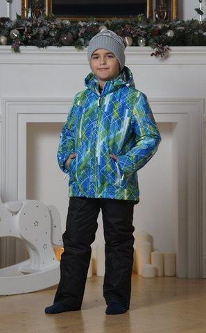 Nordski Jr City детский теплый лыжный костюм синий-лайм
