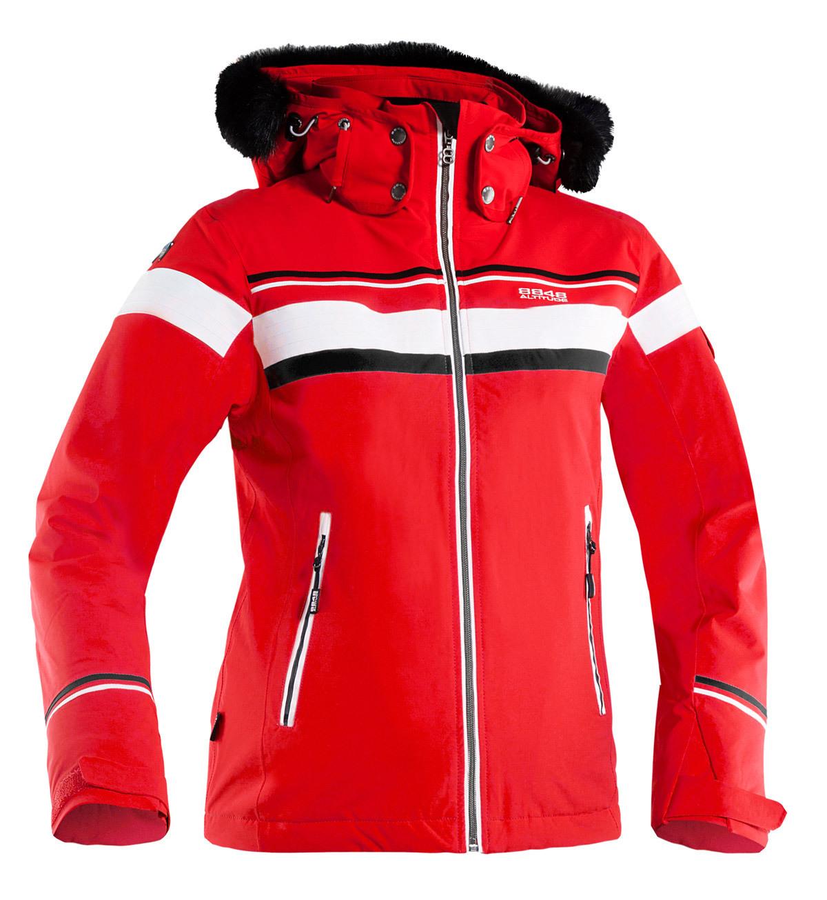 Горнолыжная куртка 8848 Altitude Carlin красная
