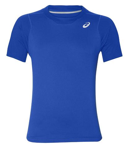 Asics Gel Cool Ss Top футболка для бега мужская синяя