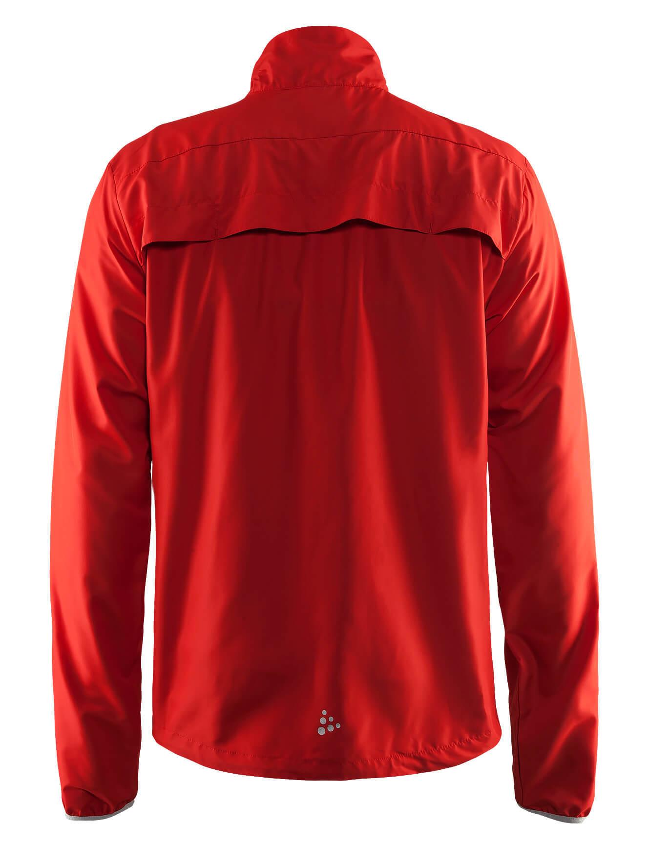 Craft Mind Run мужская беговая куртка Red - 2