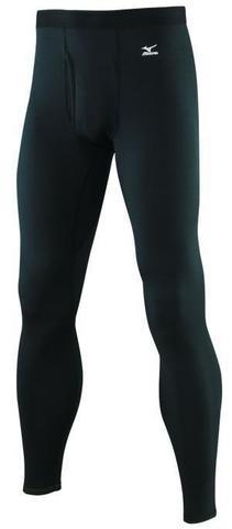 Mizuno Mid Weight комплект термобелья мужской black