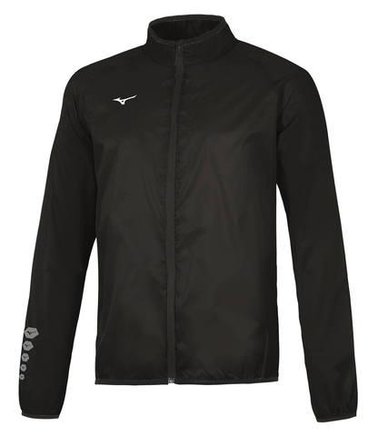 Mizuno Authentic Rain Jacket мужская куртка для бега черная