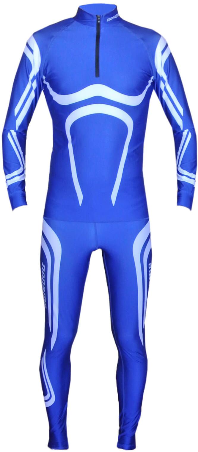 NONAME DRAGOS LYCRA лыжный гоночный комбинезон black-blue