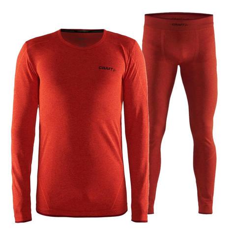 Craft Active Comfort комплект термобелья мужской orange