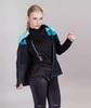 Лыжный костюм женский Nordski Drive black-mint - 3