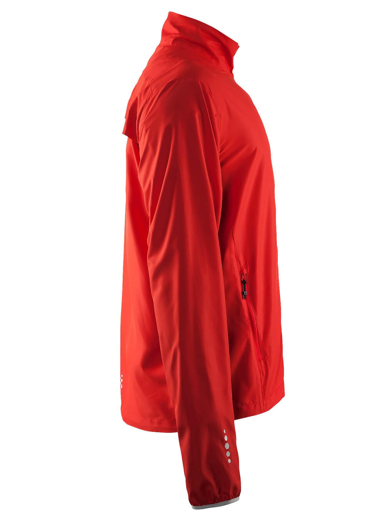 Craft Mind Run мужская беговая куртка Red - 3