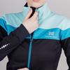 Лыжный костюм женский Nordski Drive black-mint - 4