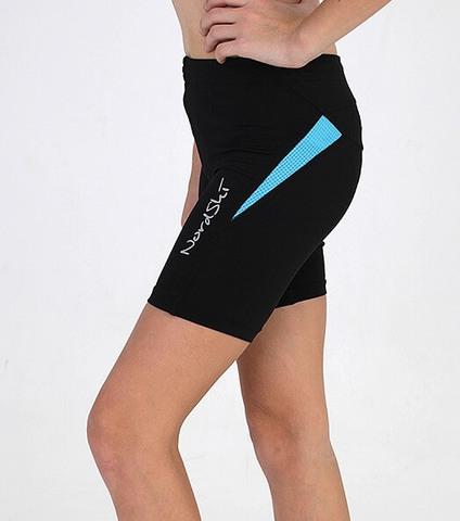 Nordski Premium женские шорты для бега aquamarine