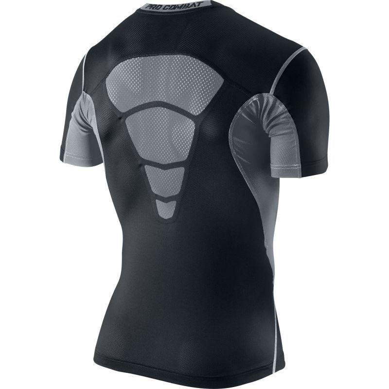Футболка компрессионная Nike Hypercool Comp SS Top чёрная - 2