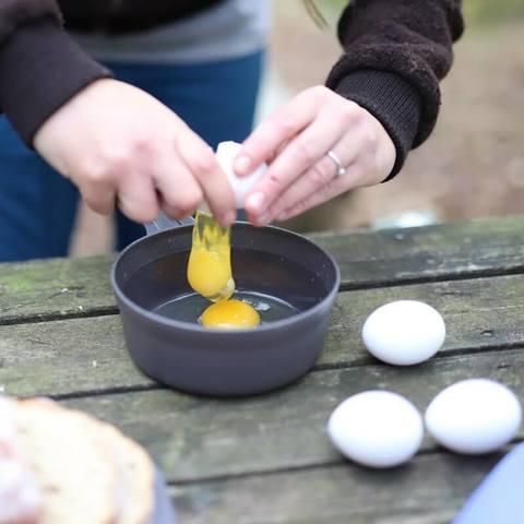 Wildo Kasa Bowl туристическая миска olive