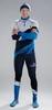 Nordski Premium лыжный гоночный комбинезон deep blue-white - 1