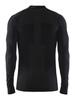 Craft Warm Intensity термобелье мужское рубашка black - 2