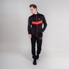 Nordski Base тренировочная куртка мужская black-red - 3