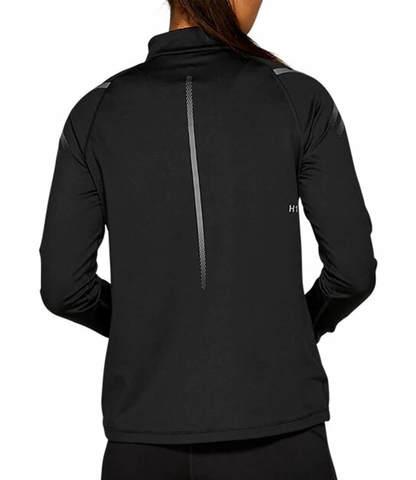 Asics Icon Winter LS 1/2 Zip беговая рубашка женская черная