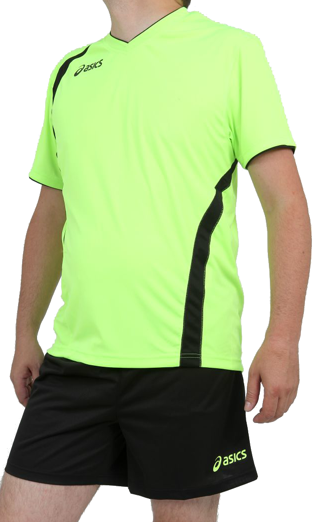 Asics Set End Man форма волейбольная мужская green - 2