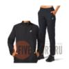 Asics Core Woven костюм для бега женский черный - 1