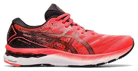 Asics Gel Nimbus 23 Tokyo кроссовки для бега мужские черные-красные (Распродажа)
