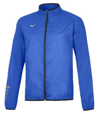 Mizuno Authentic Rain Jacket мужская куртка для бега синяя
