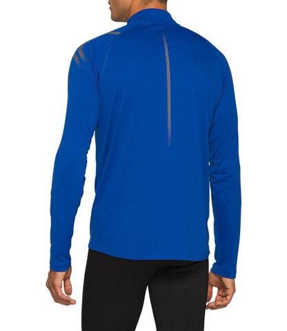 Asics Icon 1/2 Zip LS рубашка для бега мужская синяя