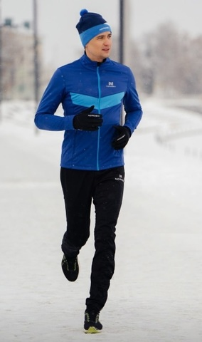 Nordski Base мужской беговой костюм blue
