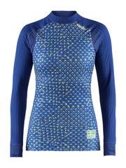 Термобелье рубашка женская Craft Active Extreme 2.0 Ski Team SWE