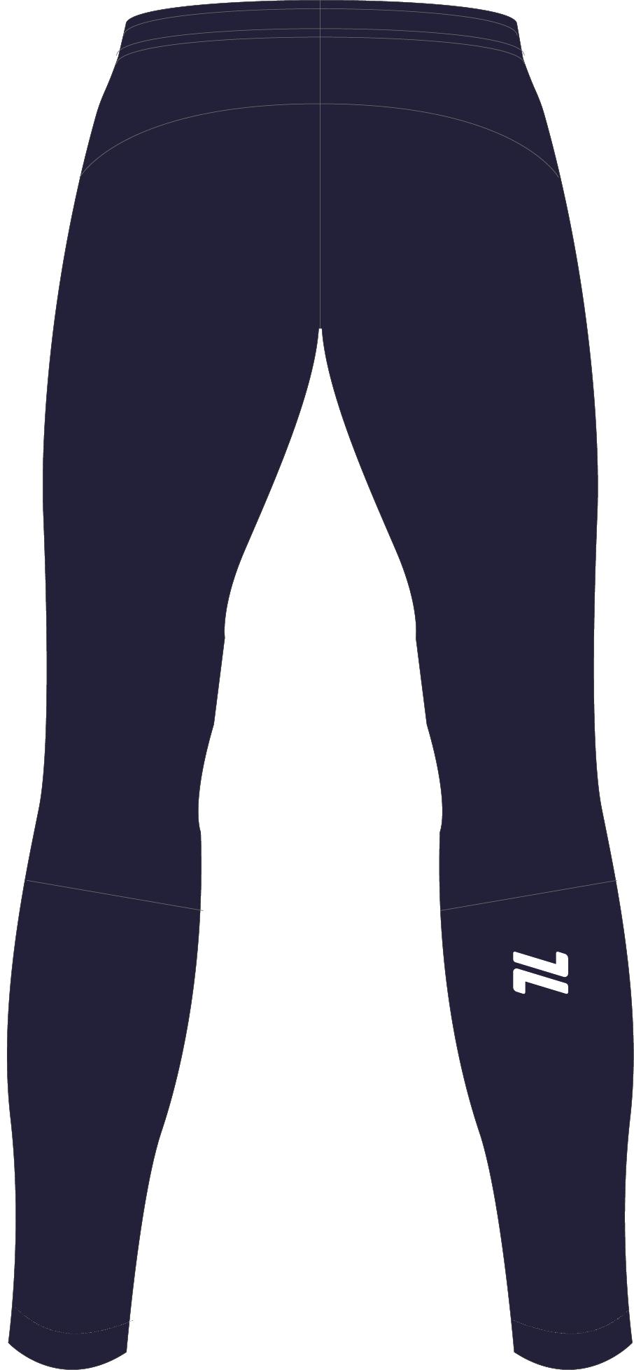 Nordski Jr Motion 2020 разминочный лыжный костюм детский blueberry-pink - 6