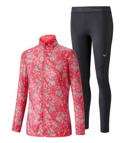Mizuno Aero Impulse костюм для бега женский pink