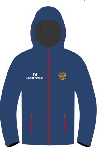 Nordski Light Patriot утепленная ветрозащитная куртка женская