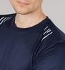 Nordski Run футболка для бега мужская dress blue - 4