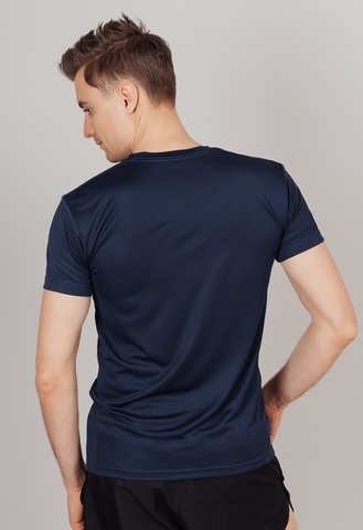 Nordski Run футболка для бега мужская dress blue