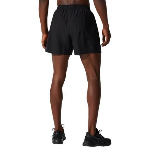 """Asics Core 5"""" Short шорты для бега мужские черные"""