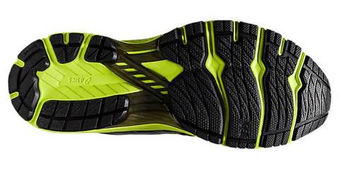 Asics Gt 2000 8 беговые кроссовки мужские черные-лайм