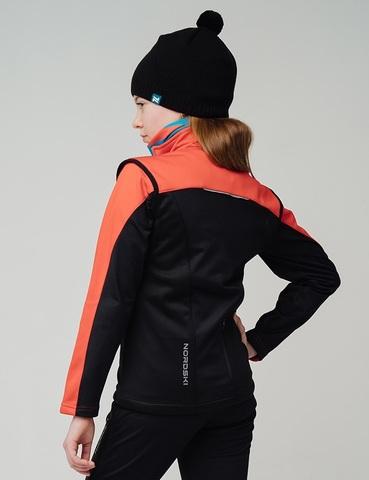 Nordski Jr Active лыжный жилет детский red-black