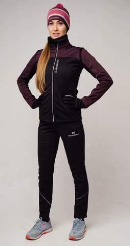 Nordski Active лыжный костюм женский purple