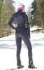 Nordski Jr Motion 2020 разминочный лыжный костюм детский blueberry-pink - 2