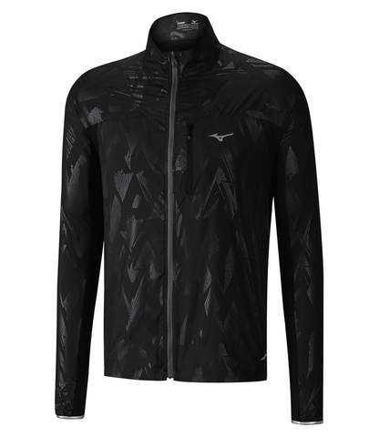 Куртка для бега мужская Mizuno Aero Jacket