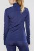 Craft Active Fuseknit Comfort терморубашка на молнии женская purple - 3