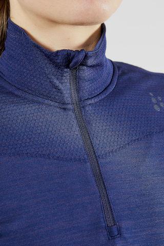 Craft Active Fuseknit Comfort терморубашка на молнии женская purple
